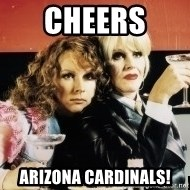 Absolutely Fabulous - Cheers  Arizona Cardinals!
