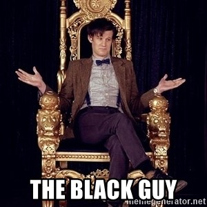 Hipster Doctor Who -  The black guy