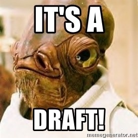 Ackbar - IT'S A DRAFT!