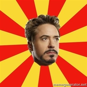 Leave it to Iron Man -