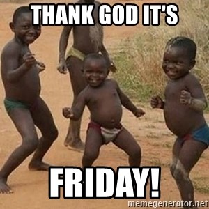 Dancing african boy - Thank God It's FRIDAY!