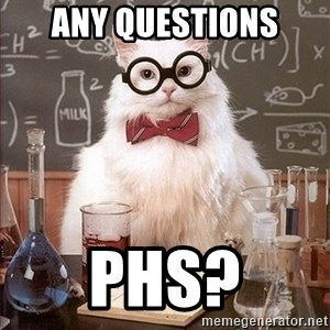 Science Cat - Any Questions PHS?