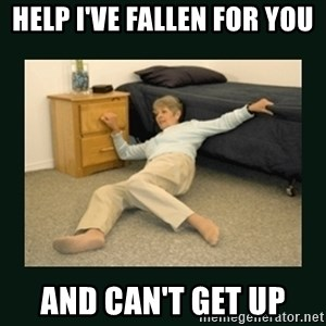 life alert lady - Help I've fallen for you And can't get up