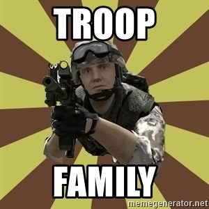 Arma 2 soldier - troop family