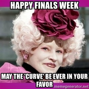 hunger games effie - Happy finals week May the 'curve' be ever in your favor