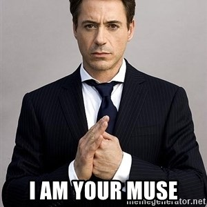 Robert Downey Jr. -  I am your Muse