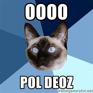 Chronic Illness Cat - OOOO POL DEOZ