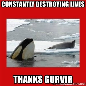Thanks Obama! - Constantly destroying lives Thanks Gurvir