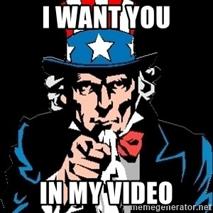 I Want You - I Want you in my video