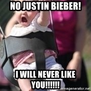 little girl swing - NO JUSTIN BIEBER! I WILL NEVER LIKE YOU!!!!!!