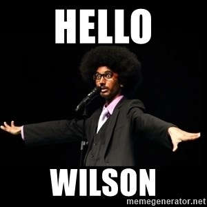 AFRO Knows - hello wilson