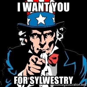 I Want You - I WANT YOU FOR SYLWESTRY