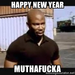 James Doakes surprise - HAPPY NEW YEAR MUTHAFUCKA