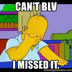 Homer Facepalm - can't blv I missed it.
