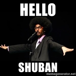 AFRO Knows - hello shuban