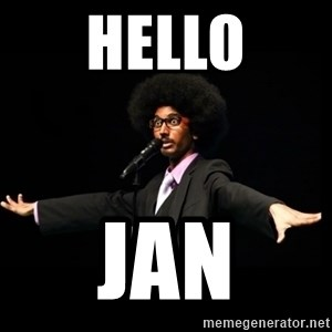 AFRO Knows - hello jan