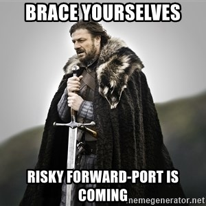 ned stark as the doctor - brace yourselves risky forward-port is coming