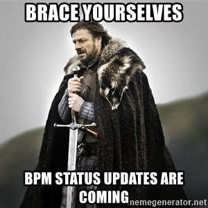 ned stark as the doctor - Brace Yourselves BPM STATUS UPDATES ARE COMING