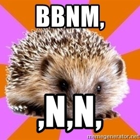 Homeschooled Hedgehog - bbnm, ,n,n,