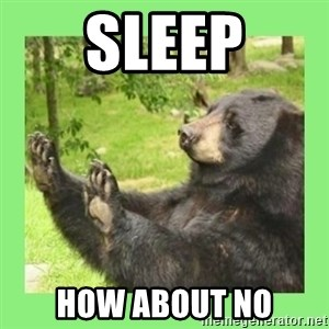 how about no bear 2 - sleep how about no