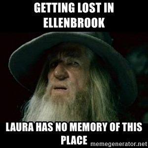 no memory gandalf - Getting lost in Ellenbrook Laura has no memory of this place