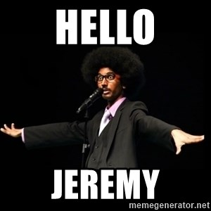 AFRO Knows - hello jeremy