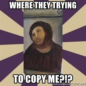 Retouched Ecce Homo - Where they trying to copy me?!?
