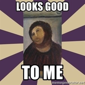 Retouched Ecce Homo - Looks good to me