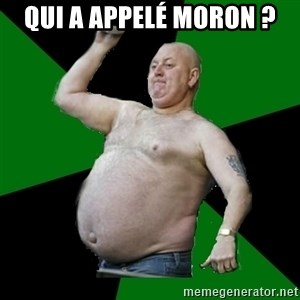 The Football Fan - Qui a appelé moron ?