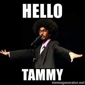 AFRO Knows - hello TAMMY