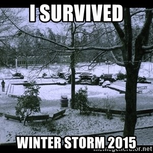 UVIC SNOWDAY - I SURVIVED WINTER STORM 2015