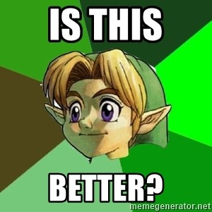 Link - Is this Better?