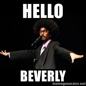 AFRO Knows - hello beverly
