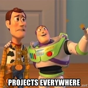 buzz lightyearr -  projects everywhere