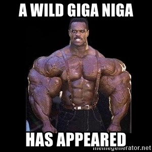 Giga Nigga - A wild Giga Niga has appeared