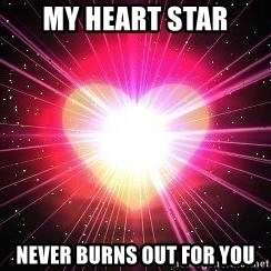 ACOUSTIC VALENTINES II - My heart star Never burns out for you