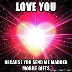 ACOUSTIC VALENTINES II - Love you Because you send me madden mobile gifts