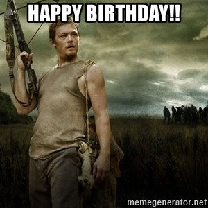 Daryl Dixon - HAPPY BIRTHDAY!!