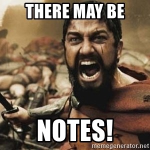 300 - There may be Notes!