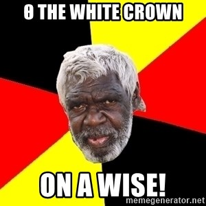 Abo - Θ the white crown on a wise!