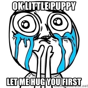 CuteGuy - Ok Little Puppy let me hug you first
