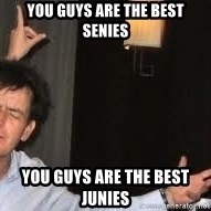 Drunk Charlie Sheen - You guys are the best senies You guys are the best Junies