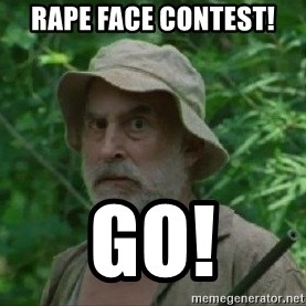 The Dale Face - Rape face contest! Go!