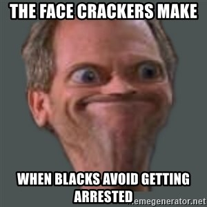 Housella ei suju - the face crackers make  when blacks avoid getting arrested