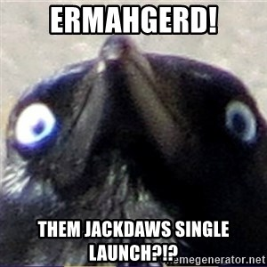 insanity crow - Ermahgerd! Them Jackdaws single launch?!?