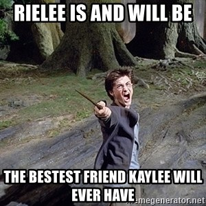 Pissed off Harry - rielee is and will be  the bestest friend Kaylee will ever have