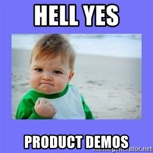 Baby fist - hell yes product demos