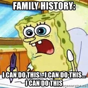 Spongebob What I Learned In Boating School Is - family history: i can do this... i can do this... I CAN DO THIS