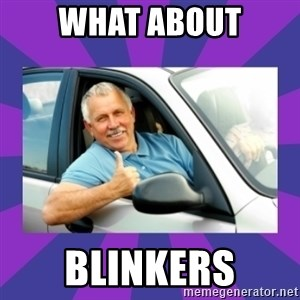 Perfect Driver - WHAT ABOUT BLINKERS