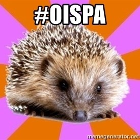 Homeschooled Hedgehog - #oispa